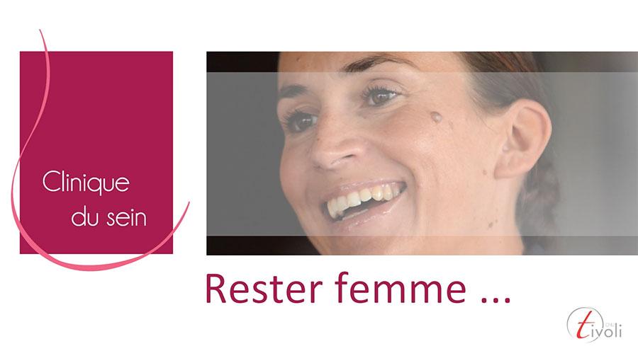 Suivez Marie dans son combat contre le cancer du sein …