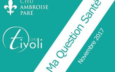 Votre Question Santé de novembre : les violences intrafamiliales, parlons-en !
