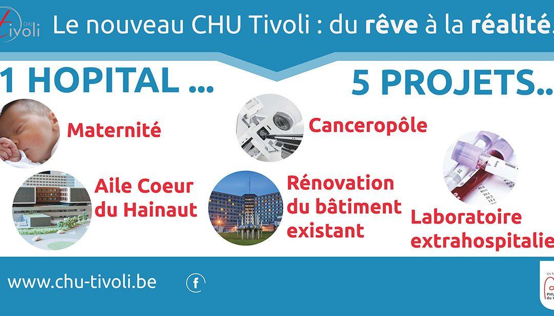 Le nouveau CHU Tivoli : du rêve à la réalité