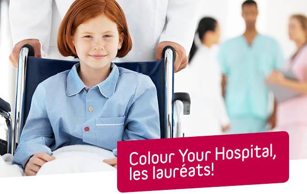 L'équipe de dialyse du CHU Tivoli, lauréate de l'appel à projet «Colour Your Hospital» de la Belfius Foundation